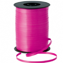 Hot Pink Ribbon for Balloons (500m x 5mm)